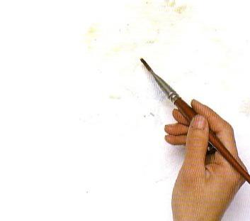 Landskap Cahaya Dalam Pensil Pelajaran Lukisan Alam