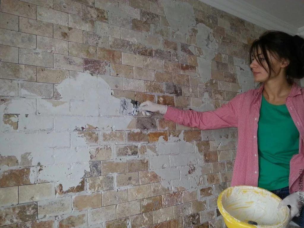 Peindre Un Mur De Brique brique décorative pour la peinture. quelle peinture pour